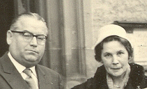 Willy und Walburga Böhringer 1957
